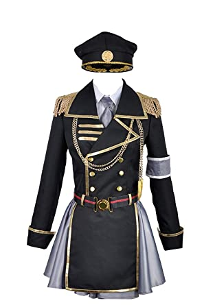 Anime K Retorno DE Reyes Neko Uniforme Militar Traje de Cosplay ...