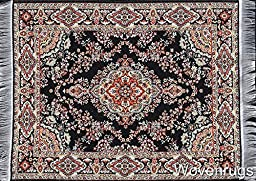 Unique Oriental Woven Rug Mouse Pad - Turkish Style Carpet Mousemat - Great Support