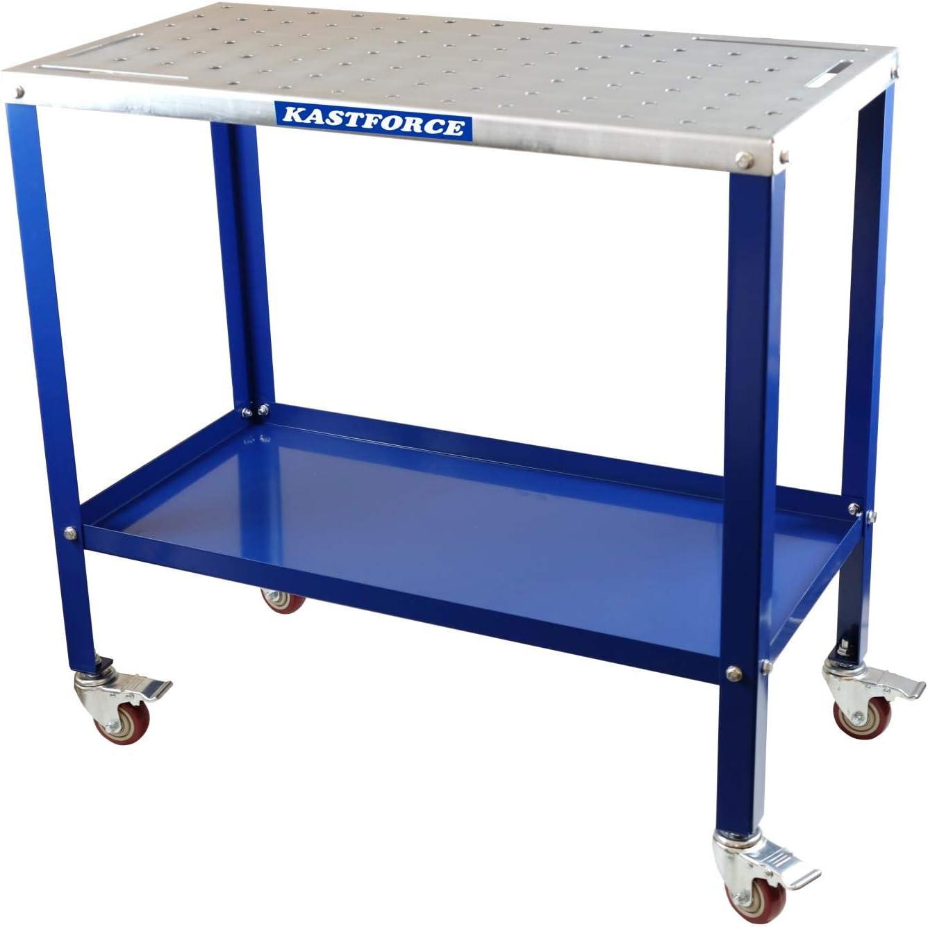 KASTFORCE KF3002 Portable Welding Table Welding Cart
