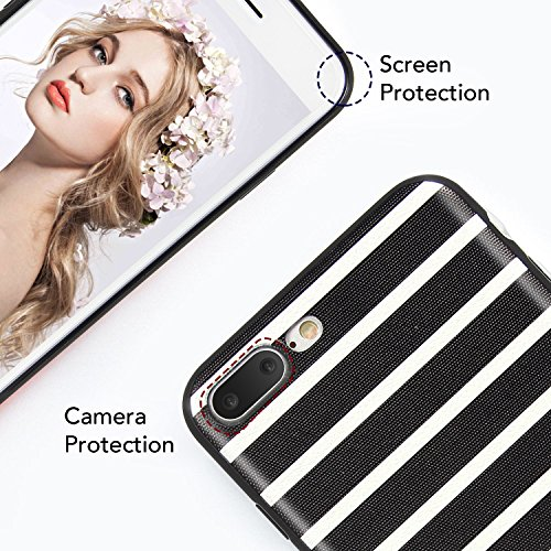 iPhone 7 Plus Hülle, Imikoko® iPhone 8 Plus Matt Rundumschutz Handy Hülle Schutzhülle Weich Silikon TPU Case Super Sweet Cute für Apple iphone 7 Plus/8 Plus