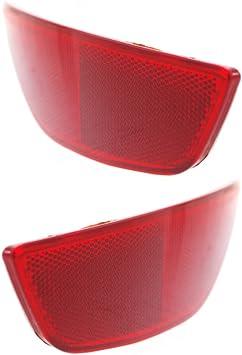 Bumper Reflector for Volkswagen Jetta 11-16 Rear Sedan Right Side