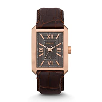 Fossil FS4653 Franklin Leather Watch - Brown