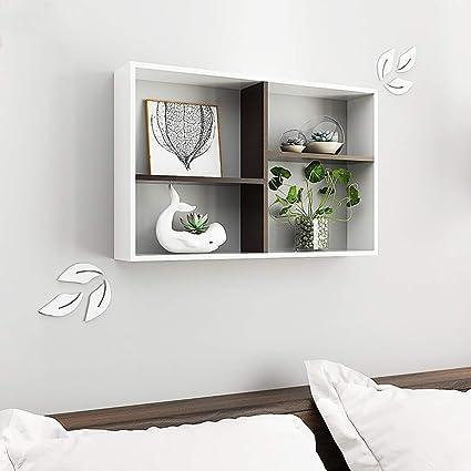 Amazon.com: Home Wall Shelf/Modern Minimalist Bedroom Wall ...