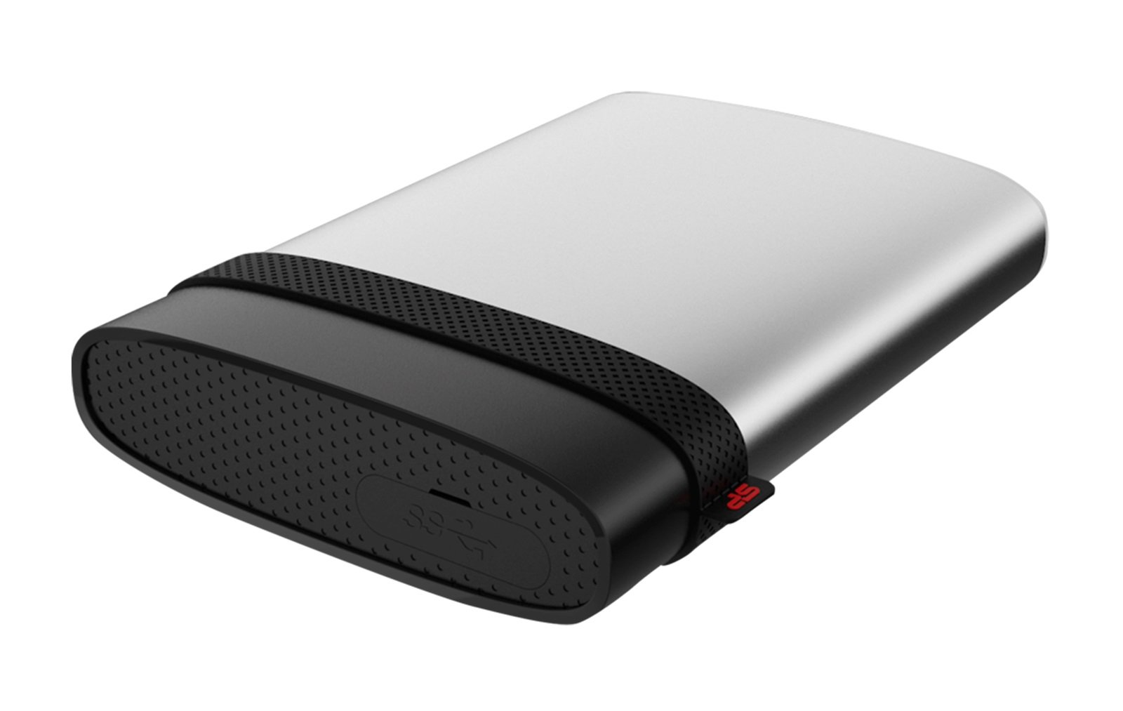 2TB Silicon Power Armor A85 Silver USB3.0 Rugged Portable Hard Drive by Silicon Power (Image #1)