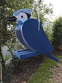 product image for DutchCrafters Hanging Bird Feeder (Blue Jay)