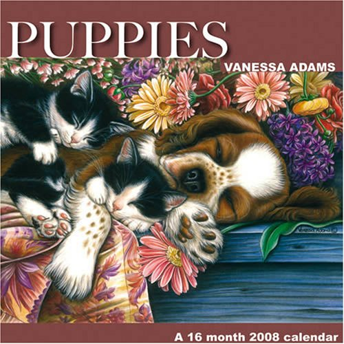Puppies by Vanessa Adams 2008 Wall Calendar (Puppies 2008 Calendar)