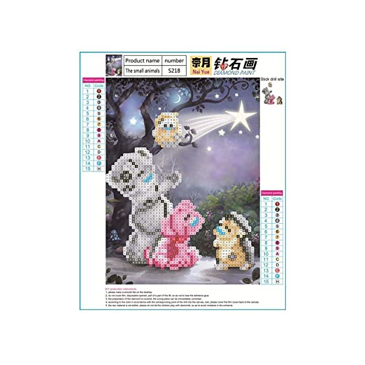 Tensay Kit de pintura de diamante 5D - Hágalo usted mismo ...