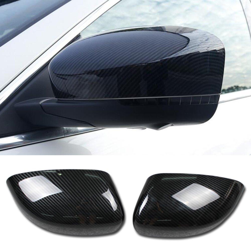 Rqing For Maserati Levante 2016 2017 2018 Rear View Mirror Guard Cover Trims Carbon Fiber Pattern Guangzhou Ruiqing