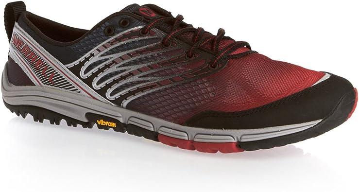 MERRELL Ascend Glove Zapatilla de Trail Running Caballero, Rojo ...