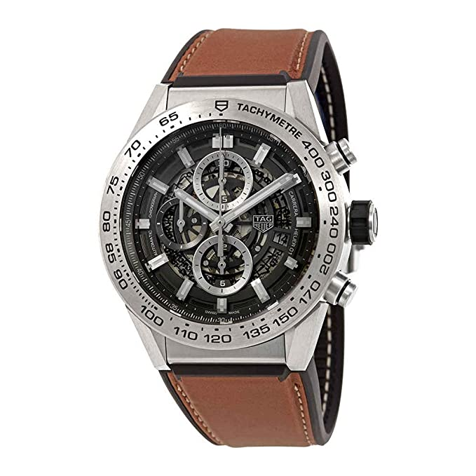 TAG Heuer Carrera Cronógrafo Automático Mens Reloj car2 a8a. ft6072: Amazon.es: Relojes