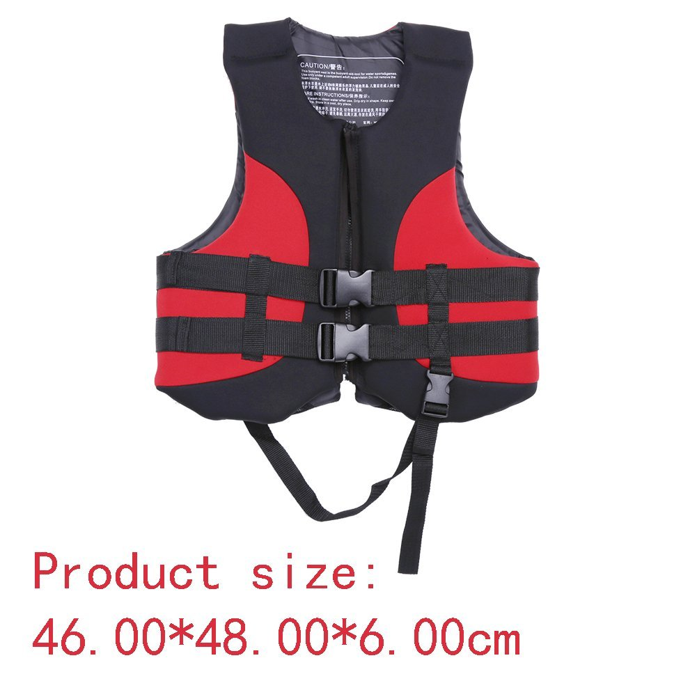 Aid Swimming Life Vest Outdoor Fishing Water Sports Jacket Buoyancy with Whistle