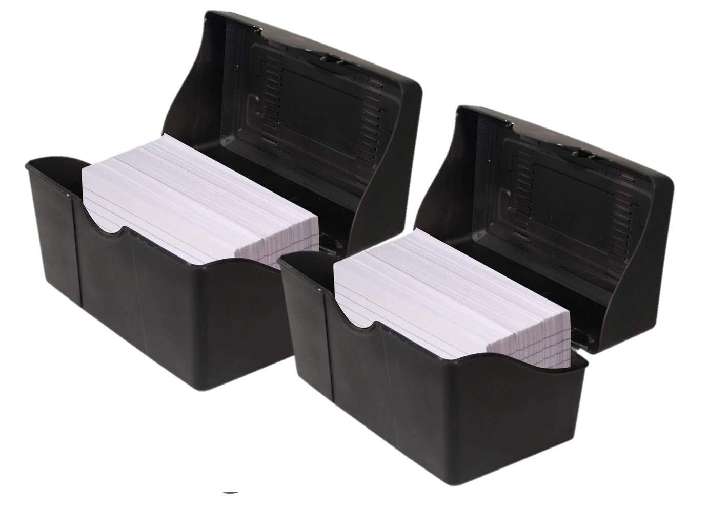 Amazon.com: 1InTheOffice - Caja para tarjetas de índice ...