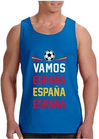 Green Turtle T-Shirts Camiseta de Tirantes Hombre - Vamos España - Apoyemos a la elección Española!: Amazon.es: Ropa y accesorios