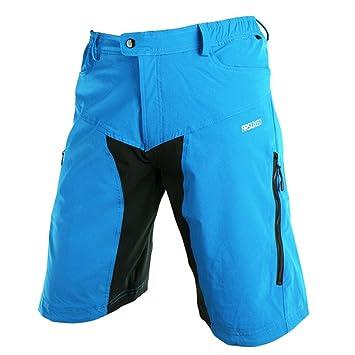 9662260427f86f M.Baxter Herren Radsport Hose Radhose Outdoor Sport Hosen Atmungsaktive  Herrenhose mit Reißverschluss Bergsteigen Camping