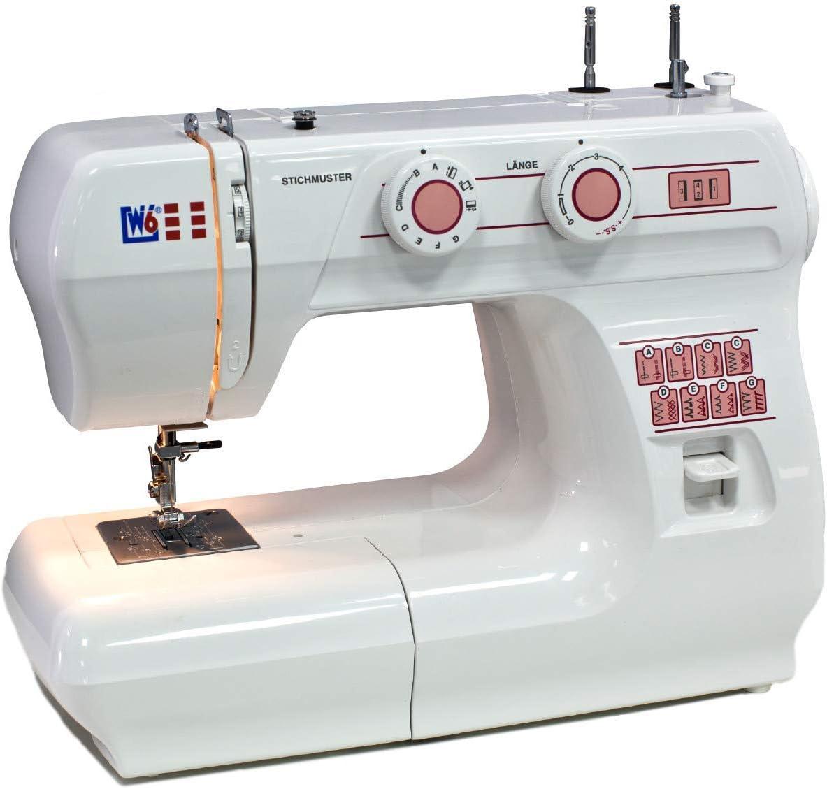 W6 N 1615 - Máquina de coser (10 años de garantía) [importado de Alemania]: Amazon.es: Hogar