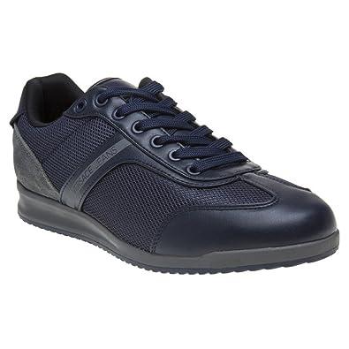 Versace Jeans Wing Cap Homme Baskets Mode Bleu  Amazon.fr  Chaussures et  Sacs b568952116b