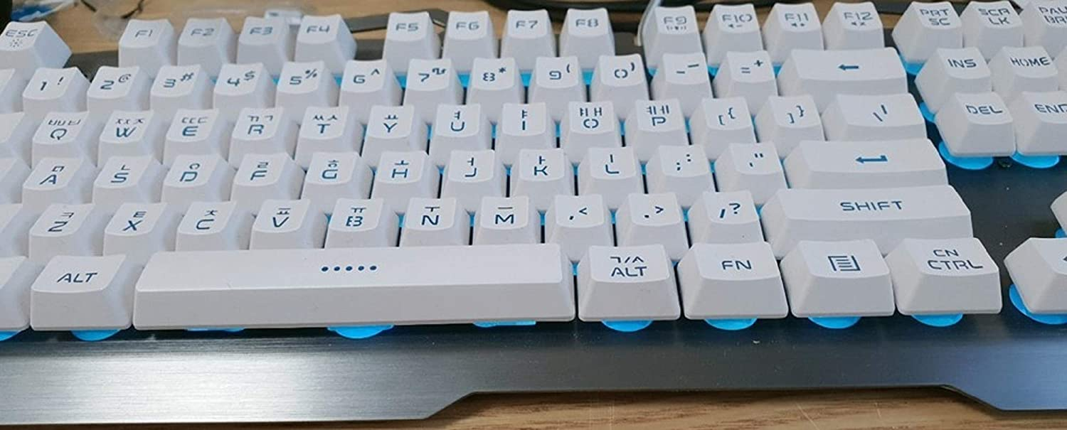 Xenics TitanSE Korean English Gaming Keyboard USB Wired Backlight Membrane for PC