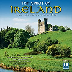 2019 The Spirit of Ireland Images and Blessings of the Emerald Isle 16-Month Wall Calendar: by Sellers Publishing, 12 x 12; (CA-0406)