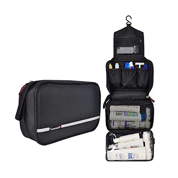 4a82be35c Neceser Viaje Hombre y Mujer,Neceser Maquillaje Pack Neceser Baño Toiletry  Kit, Boic Pequeño
