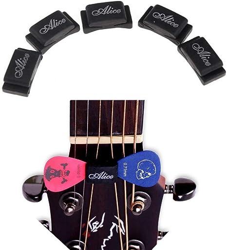 Púa de guitarra Set para guitarra bajo ukelele, paquetes múltiples ...
