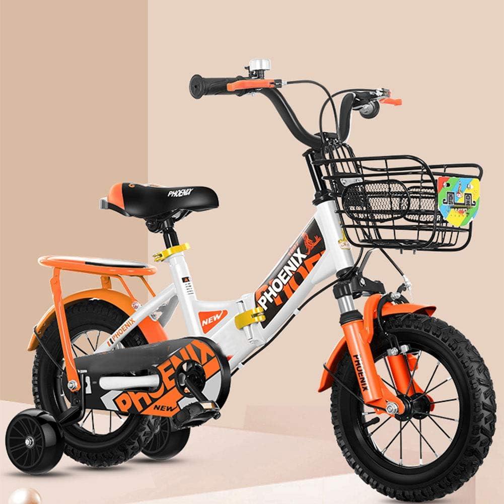 MQYZS Bicicleta sin Pedales para niños y niñas   Bici 12 Pulgadas a Partir de 3-8 años   12