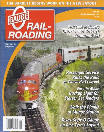 - O Gauge Railroading Magazine (October/November 2013)