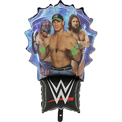 36 Inch WWE Wrestling Foil Balloon [Toy]: Toys & Games