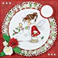 Hobby House HHWS009 Wee Stamps Topper Sheet, 8.3 by 12.2-Inch, Winter Fairy