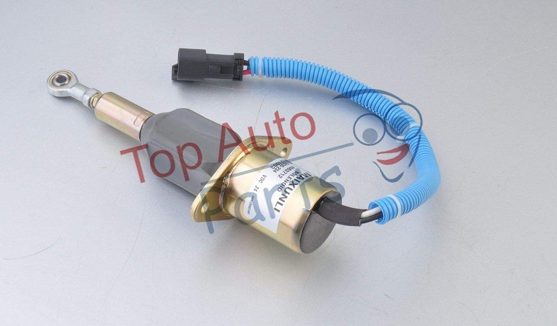 New 4063712 24V Shutdown solenoid For Cummins 6CT 8.3 Komatsu PC300-7 PC360-7