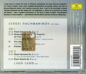Lang Lang - The Romance Of Rachmaninov [2 CD]