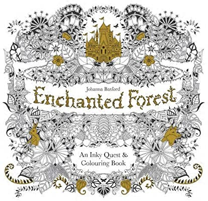 - Enchanted Forest: An Inky Quest And Colouring Book By Johanna Basford  (2-Mar-2015) Paperback: Amazon.com: Books