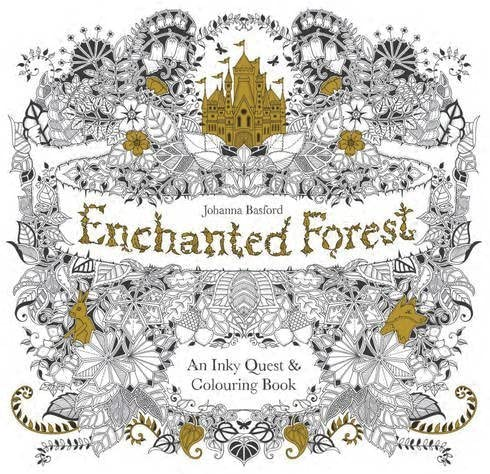 Enchanted Forest: An Inky Quest And Colouring Book By Johanna Basford  (2-Mar-2015) Paperback: Amazon.com: Books