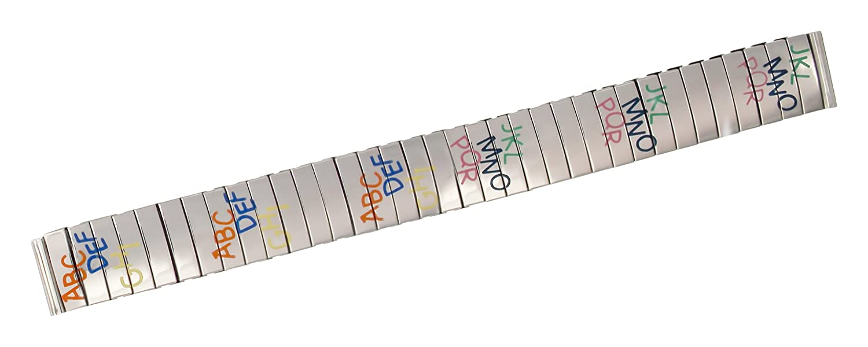 citimeシルバーステンレススチールバンド交換用、Shiny Finish with、文字、拡張バンド14 mmストラップ_ s14011  B077Z4FBGR