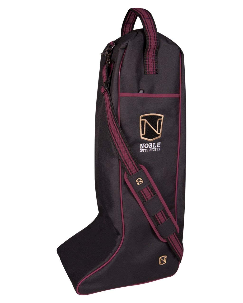 Noble Equestrian Just For Kicks Tall Boot Bag (Merlot) by Noble Equestrian