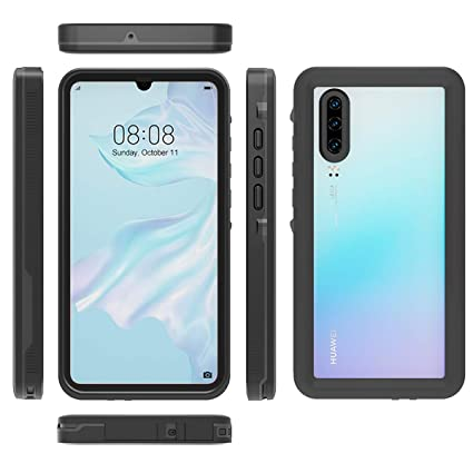 Amazon.com: IP68 - Carcasa para Huawei P30 (impermeable ...