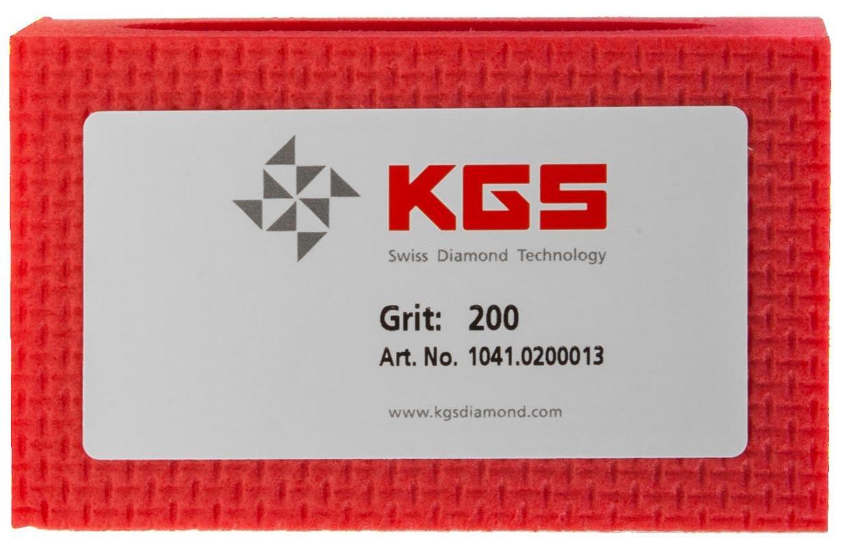 KGS PRO-PAD Diamond Hand Polishing pads 3 Pack, Combination set grit 60, 200, 400