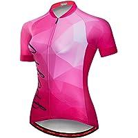 Cycling Jersey Women MTB Tops Mountain Bike Jersey Shirts Short Sleeve Summer