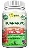 Huanarpo Macho Powder Capsules - 1000mg Max Strength - Pure Huanarpo (Jatropha Macrantha) Male Enhancing Supplement - Anti-Inflammatory Antioxidant Enhancement Pills - 120 Capsules