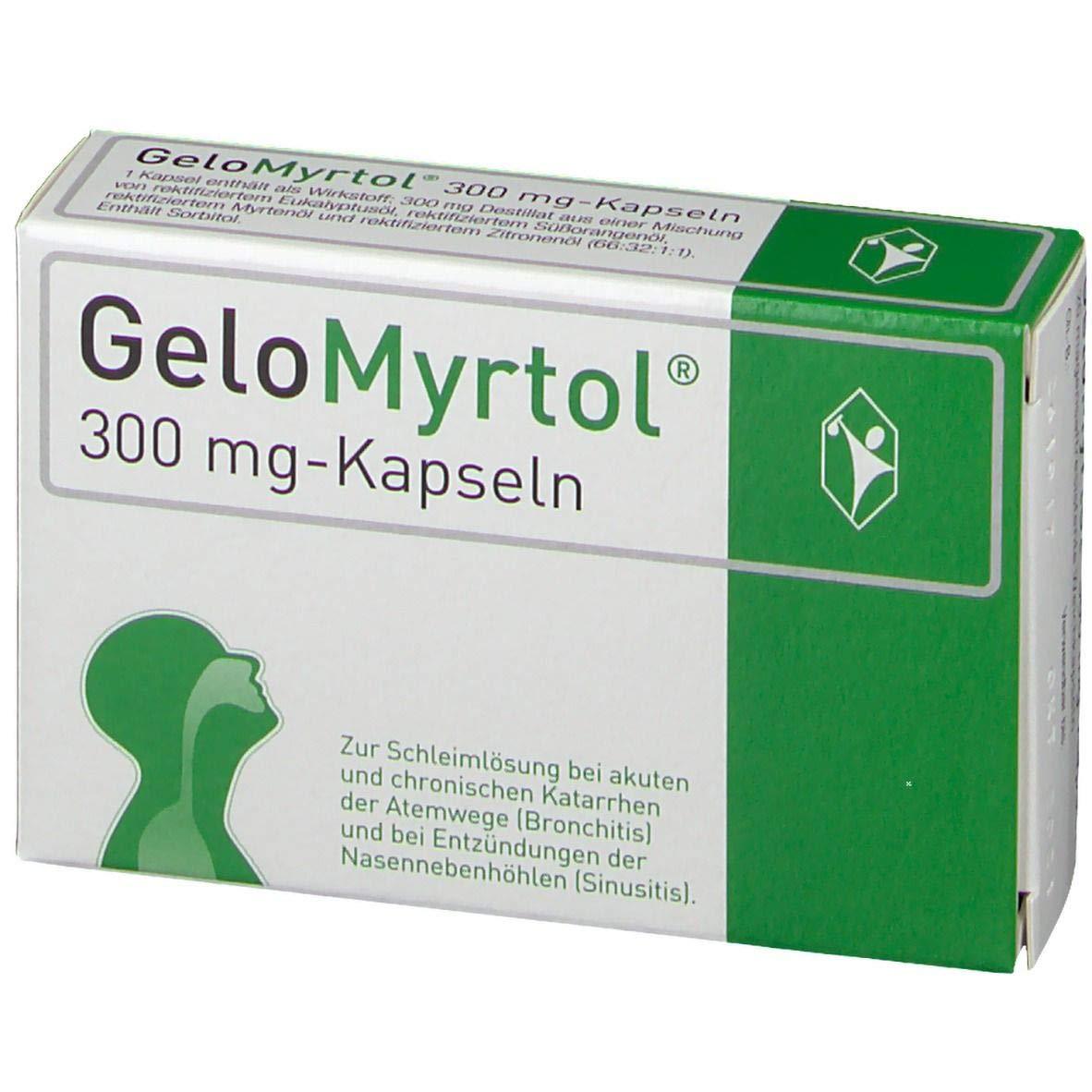 Gelomyrtol Forte 20 Kapseln Capsules by Gelomyrtol