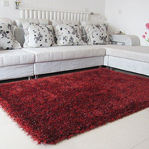 HBJP ヨーロッパスタイルの肥厚ストレッチシルク絨毯リビングルームコーヒーテーブルカーペット寝室のベッドサイドブランケットウェディングルームカーペット じゅうたん (色 : #4, サイズ さいず : 1.4*2.0) B07RKL96C3 #4 1.4*2.0
