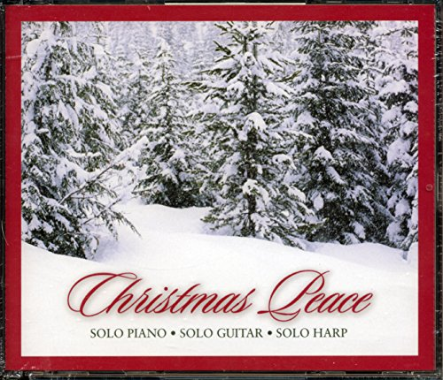 Christmas Peace ~ Solo Piano, Solo Guitar, Solo Harp, 3 CD Set