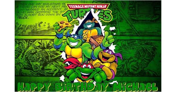 Amazon.com: Teenage Mutant Ninja Turtles Comestible Frosting ...