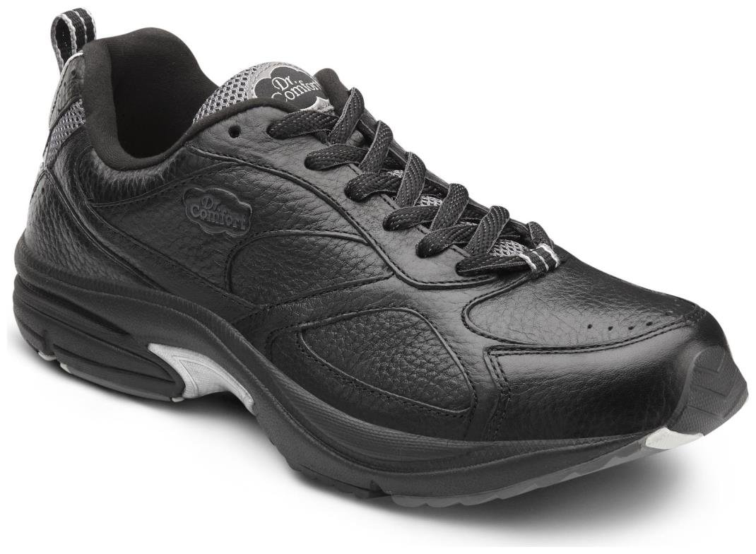 Dr. Comfort Winner Plus Men's Therapeutic Diabetic Extra Depth Shoe: Black 11 X-Wide (3E/4E) Lace