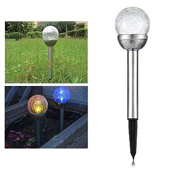 Lampe de Solaire Jardin  Piquet IP44 Imperméable Sans Fil Eclairage
