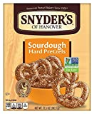 Snyder's of Hanover Pretzels, Sourdough Hard Pretzels, 13.5 Ounce Box (Pack of 12)