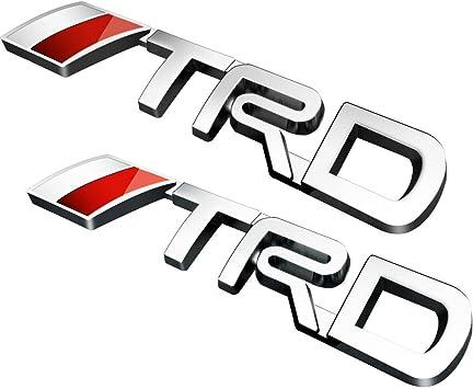 D280 2 pcs.Power Car Sticker 3D Emblem Badge Badge Lettering Car Sticker Mobile