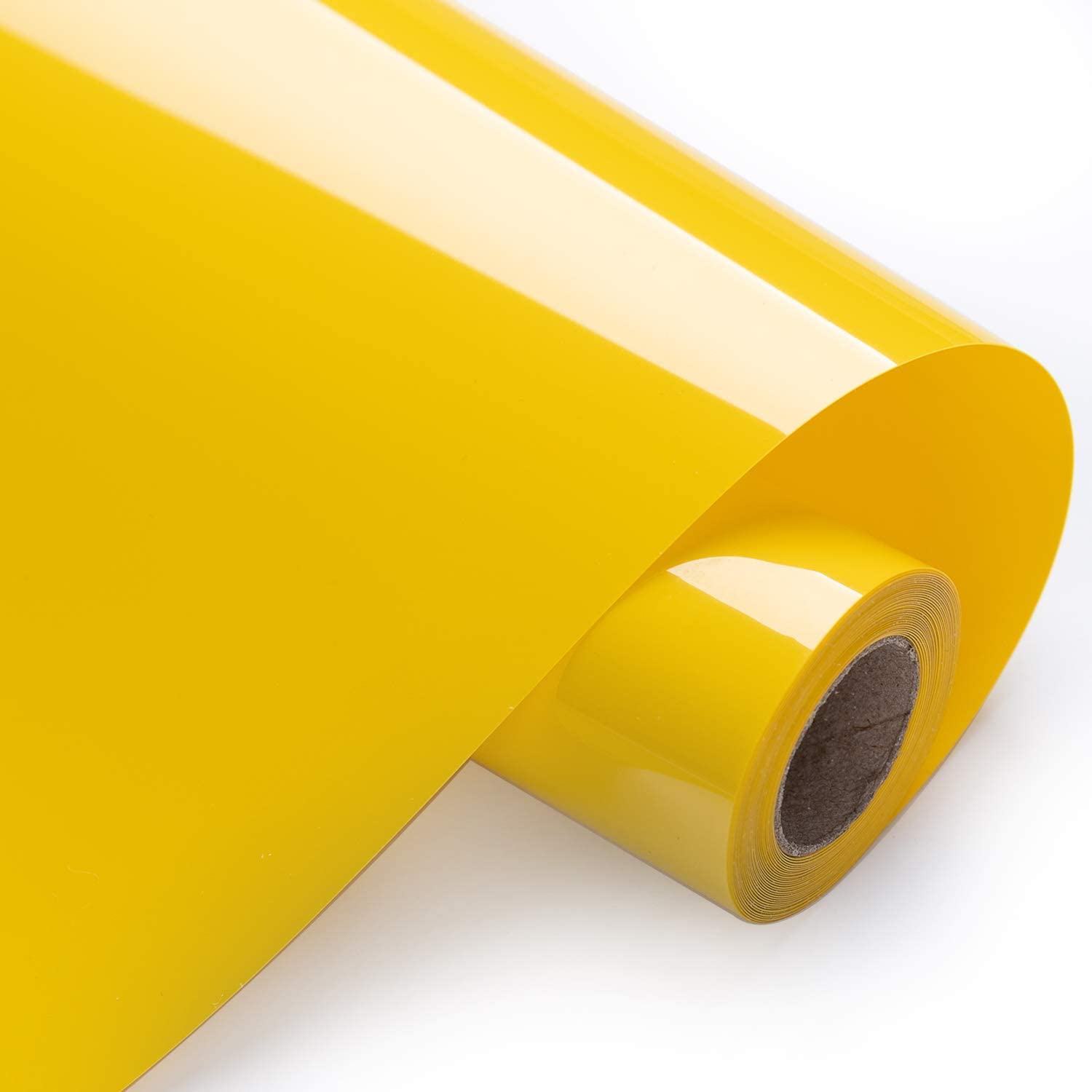 HTV Iron on Vinyl 12inch x10 Feet Roll for Silhouette and Cricut Easy to Cut /& Weed Iron on Heat Transfer Vinyl DIY Heat Press Design for T-Shirts Yellow