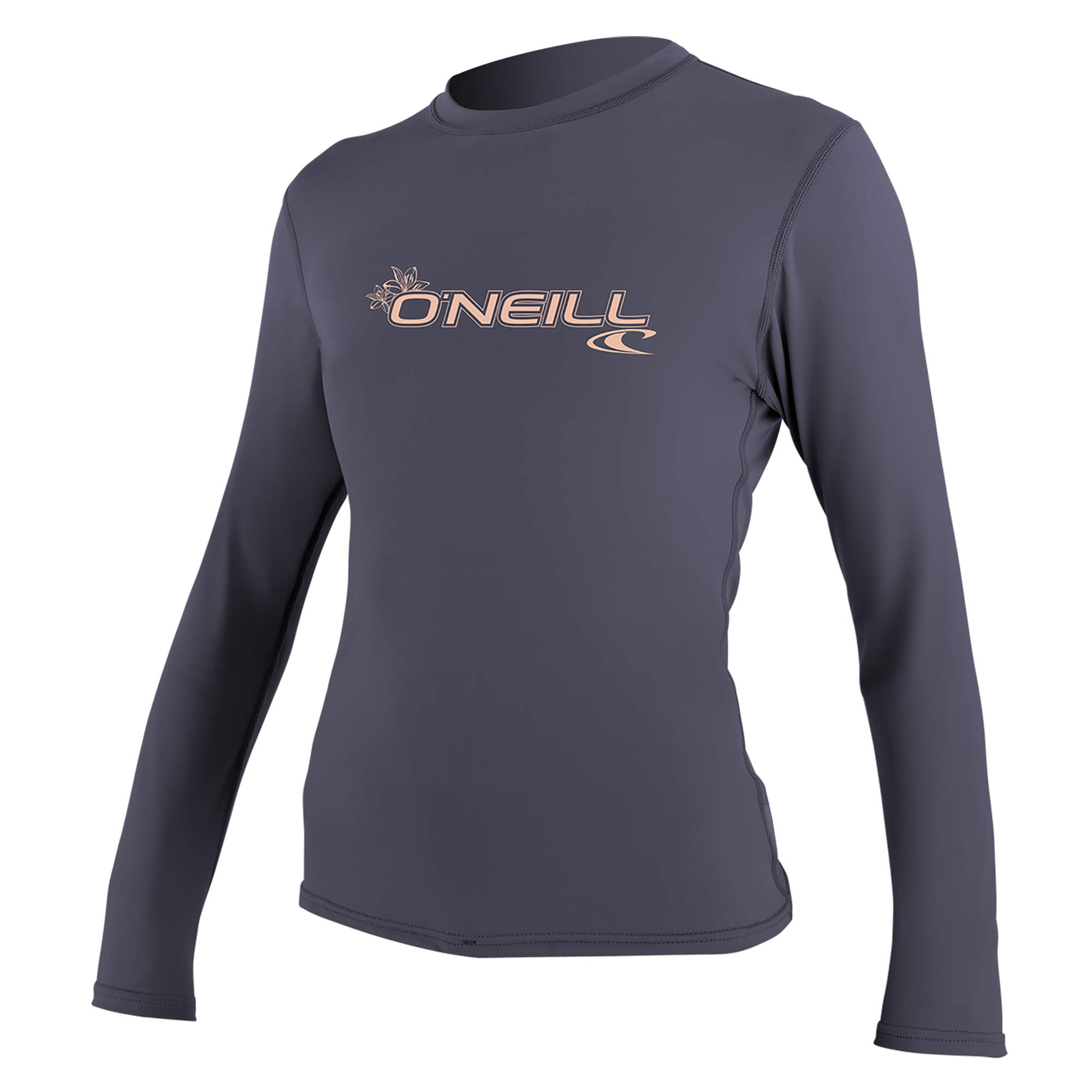 O'Neill Wetsuits Women's Basic 50+ Long Sleeve Sun Shirt, Dusk, X-Large by O'Neill Wetsuits