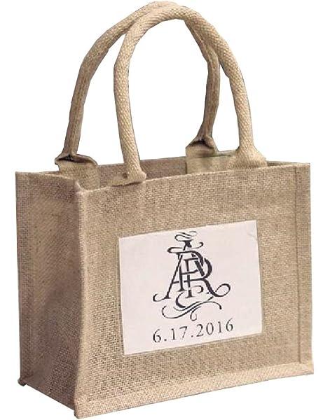 Amazon.com: Promoción Mini bolsas de arpillera con plástico ...