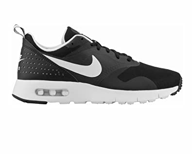d7cc464c03 Nike AIR MAX Tavas GS 814443 001 Black White Trainers: Amazon.co.uk: Shoes  & Bags
